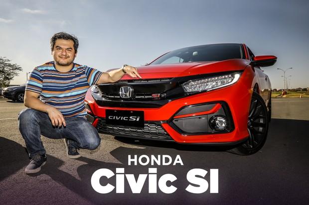 Honda Civic SI Vídeo (Foto: Autoesporte)