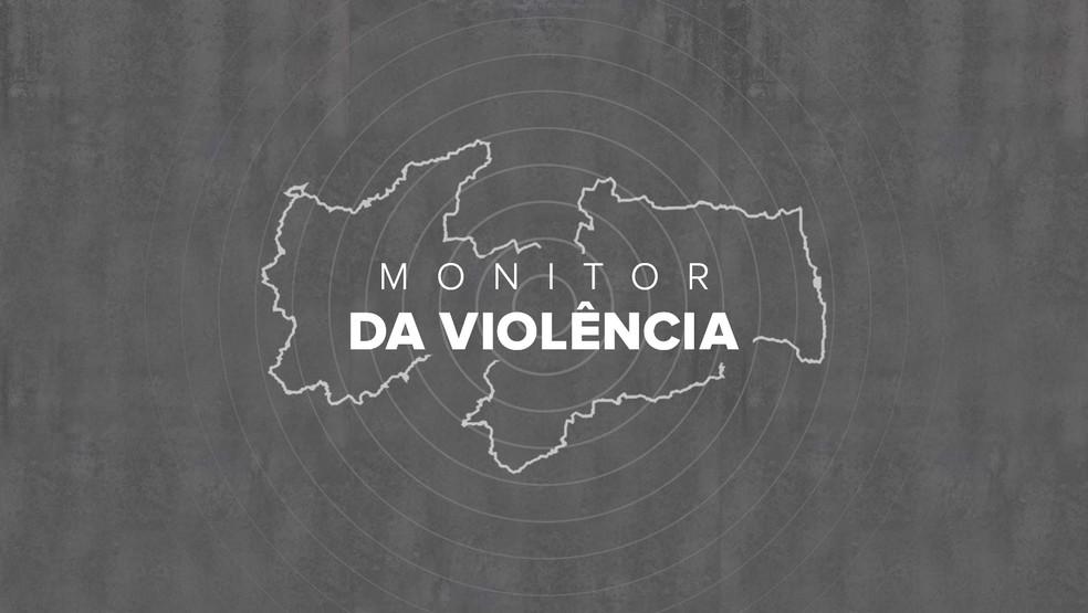 Monitor da Violência — Foto: Diogo Almeida/G1
