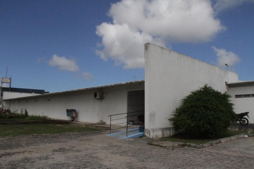 Carceragem da Central de Polícia de João Pessoa — Foto: Luana Almeida/G1