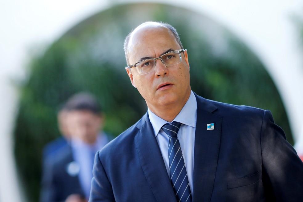 Governador do RJ, Wilson Witzel — Foto: REUTERS/Adriano Machado