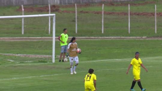 Vídeo: Jogadora do Vilhenense sofre convulsão durante jogo do Estadual Feminino