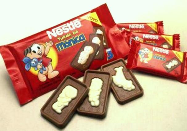 Chocolate Nestlé da Turma da Mônica (Foto: Reprodução)