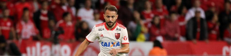 Éverton Ribeiro tem sido o mais regular do time do Flamengo — Foto: RAUL PEREIRA/FOTOARENA/ESTADÃO CONTEÚDO