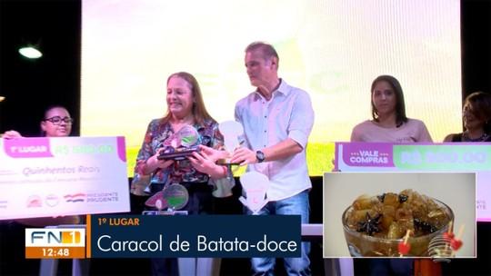 Receita de Caracol de Batata-doce é a vencedora do Concurso #Receitando