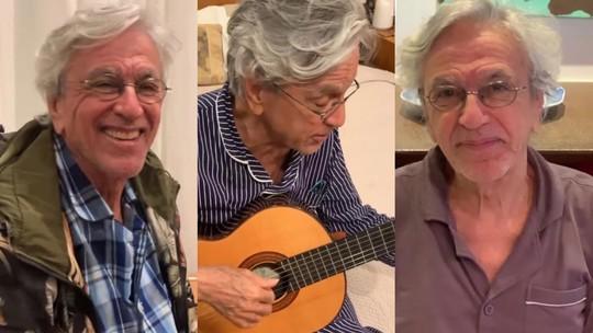 Os pijamas de Caetano Veloso: veja conjuntos estilosos do cantor e inspire-se!