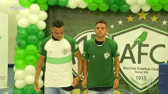 FOTOS: Alecrim lança uniforme para a segunda divisão do Campeonato Potiguar