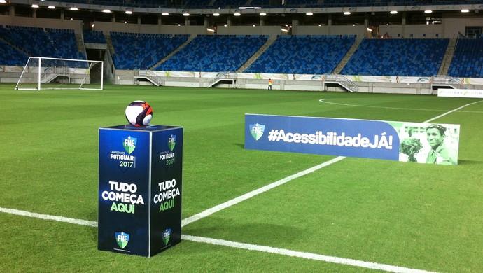 Arena das Dunas - TR - Santa Cruz de Natal x América-RN (Foto: Augusto Gomes/GloboEsporte.com)