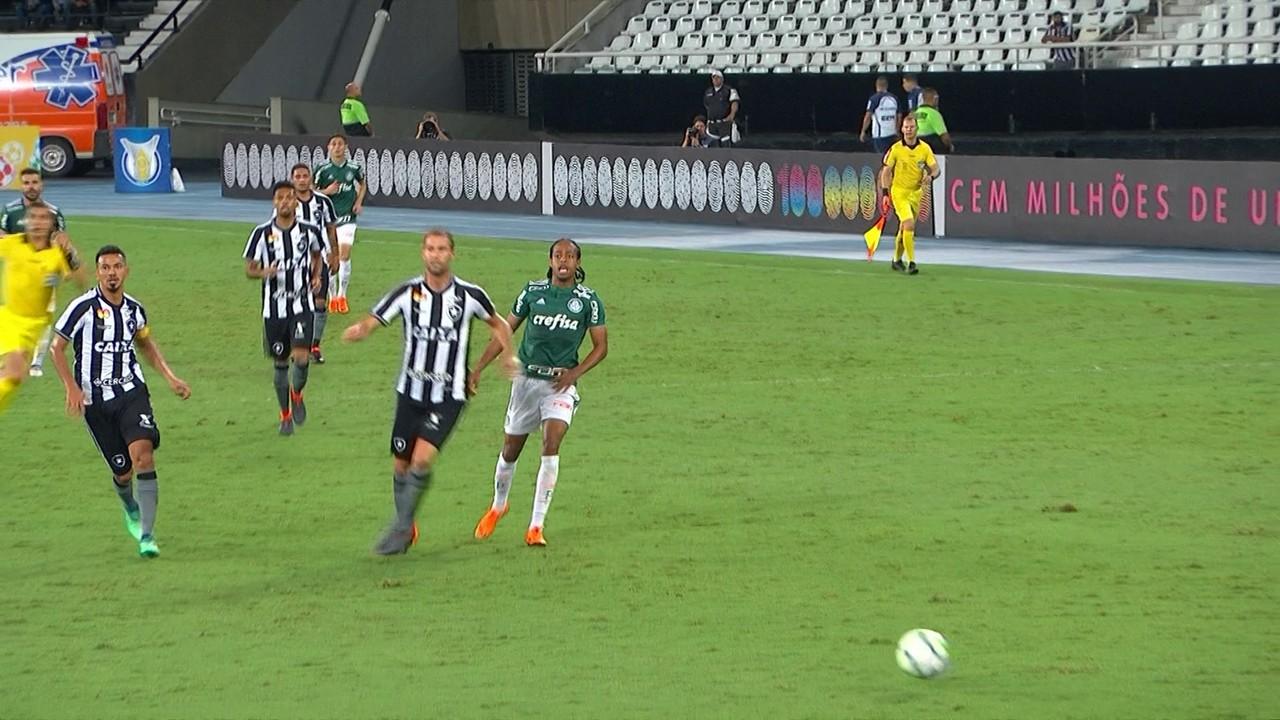 No ano do último título, empate diante do Botafogo