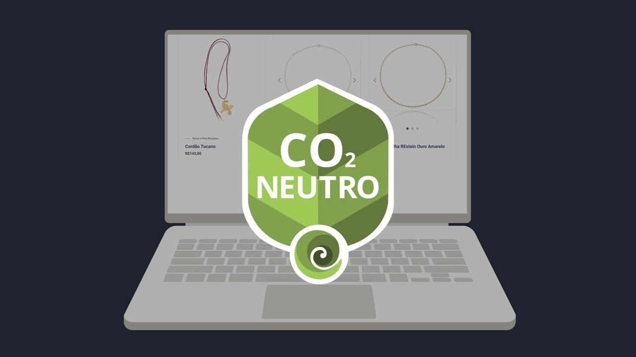 E-commerce de joias adota selo de carbono neutro no setor de logística