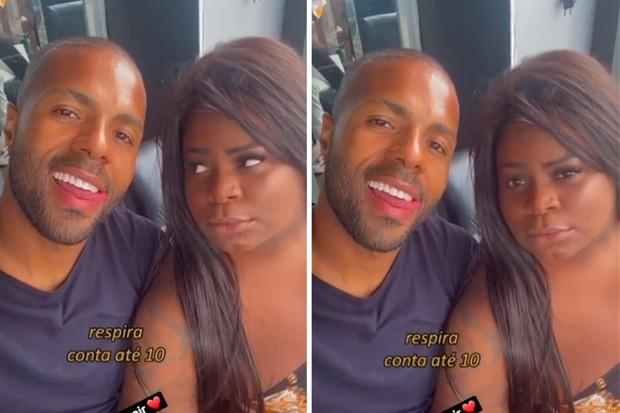 Polidoro Júnior e Jojo Todynho (Foto: Reprodução/Instagram)