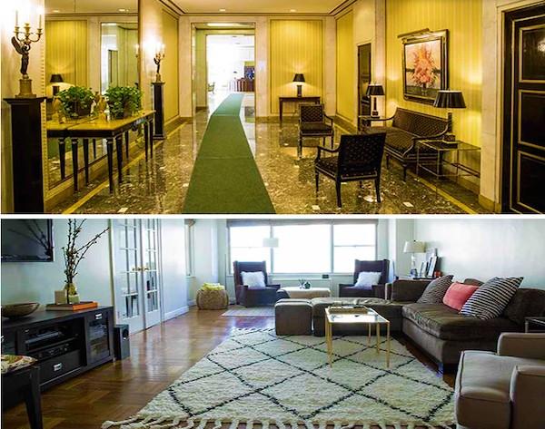 O apartamento em Nova York que foi cedido à modelo e Miss Universo 2018 Catriona Grey (Foto: Reprodução)