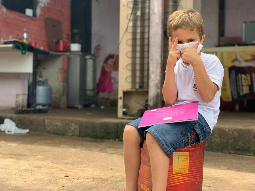 Matheus, de Caraguatatuba — Foto: João Mota/TV Vanguarda