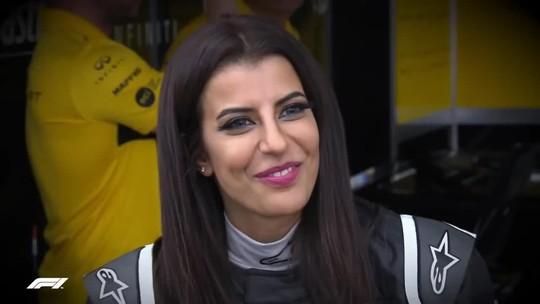 Saudita pilota F1 no mesmo dia em que país libera mulheres de obterem licença
