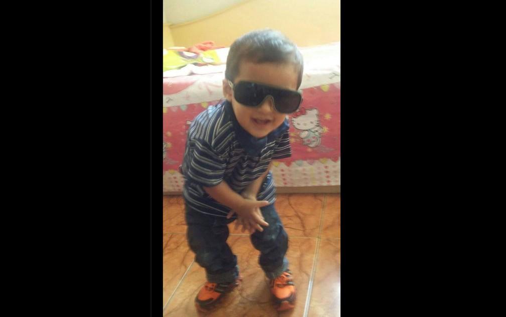 Leandro Marcio dos Santos Caner, de 5 anos, morreu atropelado — Foto: Divulgação/Arquivo Pessoal