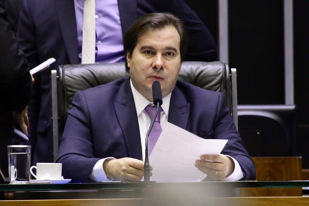 O presidente da Câmara, Rodrigo Maia (DEM-RJ) — Foto: Michel Jesus/Câmara dos Deputados