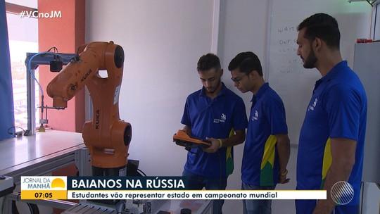 Jovens baianos são selecionados para representar a Bahia no Campeonato Mundial na Rússia