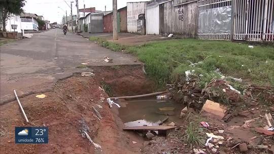 Redação Móvel mostra erosões que preocupam moradores no Recanto das Emas