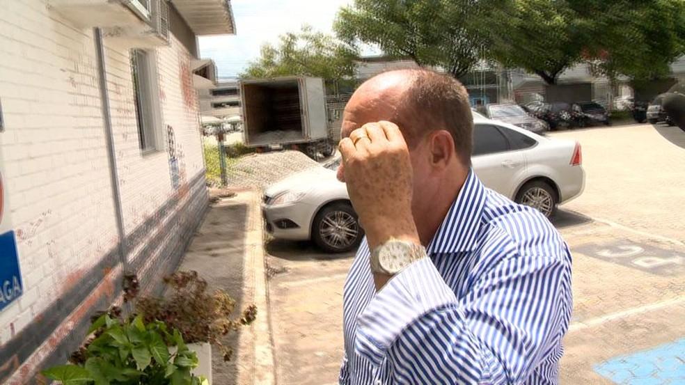 Deputado foi denunciado por levar menor a motel, na Serra — Foto: Fernando Estevão/ TV Gazeta
