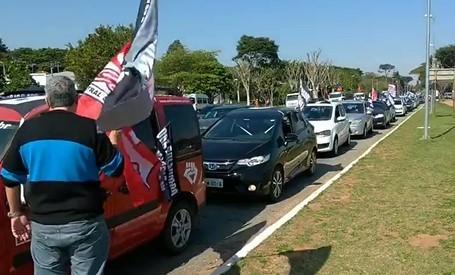 Movimentos populares fazem protestos contra Bolsonaro em SP