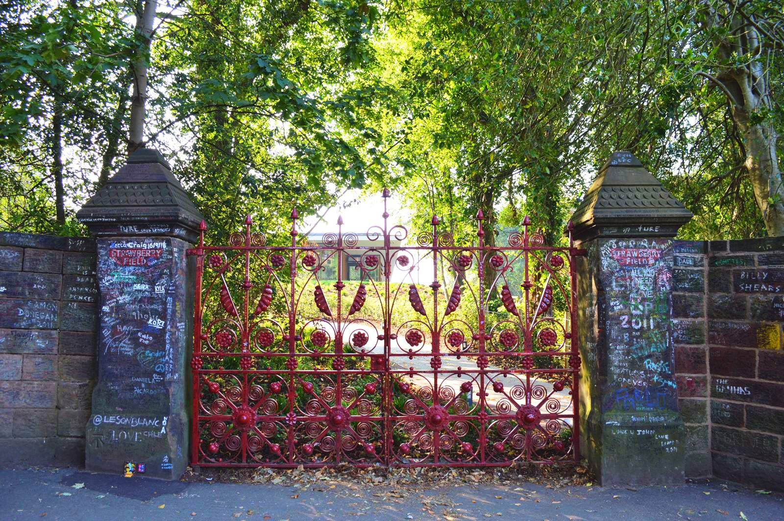 Strawberry Fields, o jardim secreto de John Lennon, é aberto aos fãs - Notícias - Plantão Diário