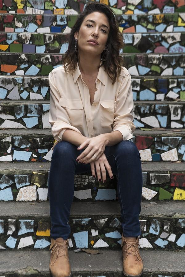 Giselle Itiê: feminismo ajudou a atriz a superar os relacionamentos abusivos (Foto: Bléia Campos)