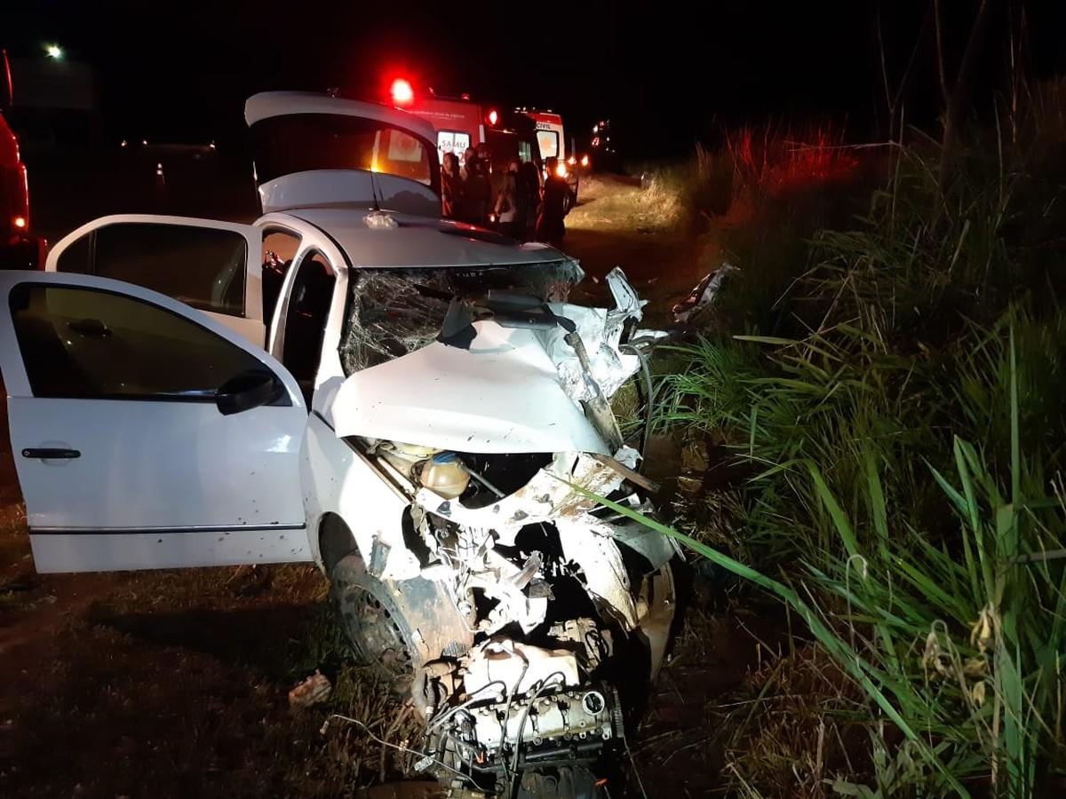 Acidente em Jandaia do Sul deixa uma pessoa morta e duas feridas - G1