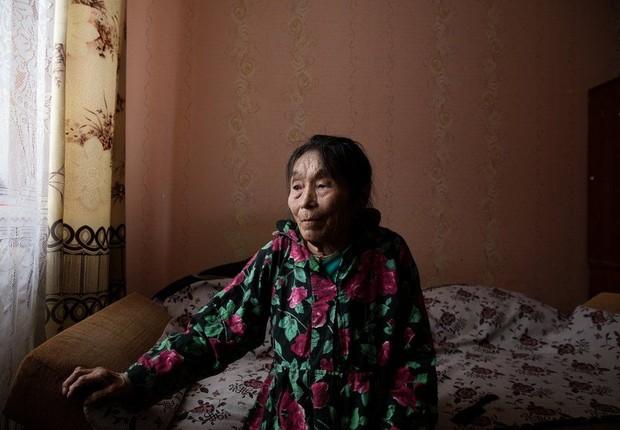 A desoladora existência das mulheres esquecidas nas terras geladas do norte da Sibéria (Foto: Oded Wagenstein via BBC News Brasil)