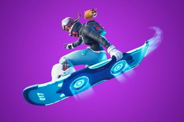 Skate voador Fortnite: Driftboard (Foto: Reprodução/internet)
