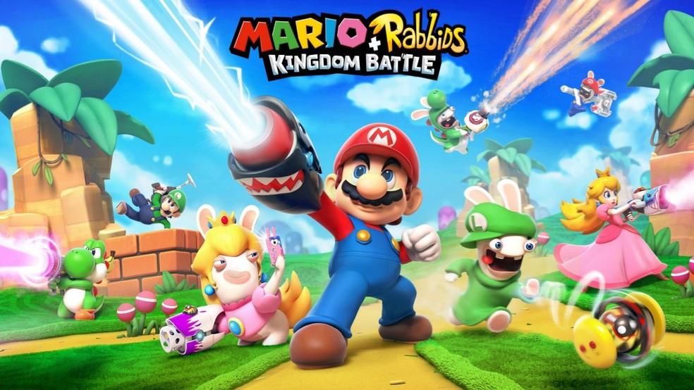 'Mario + Rabbids Kingdom Battle' é união de encanador da Nintendo e coelhinhos malucos da Ubisoft (Foto: Divulgação)