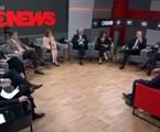 'Central das eleições', da GloboNews | Reprodução