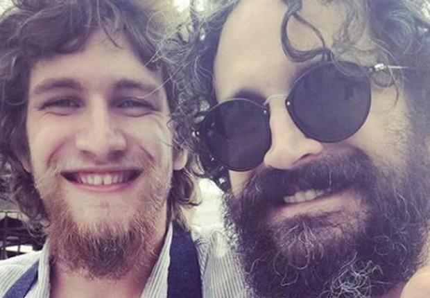 Bruno Ciocler e o pai, o ator Caco Ciocler (Foto: Reprodução/Instagram)