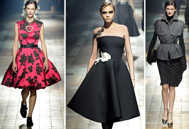 Look cinquentinha para Lanvin (Foto: Getty Images)