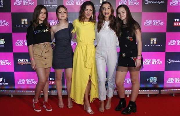 Maisa Silva, Klara Castanho, Thalita Rebouças, Giovanna Lancellotti e Mel Maia (Foto: Wallace Barbosa/AgNews)