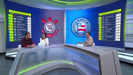 """André Loffredo critica Corinthians apesar de vitória sobre o Bahia: """"Futebol pobre"""""""