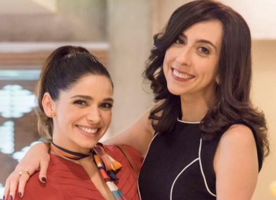 Micaela (Sabrina Petraglia) e Verônica (Marianna Armellini) (Foto: Reprodução)