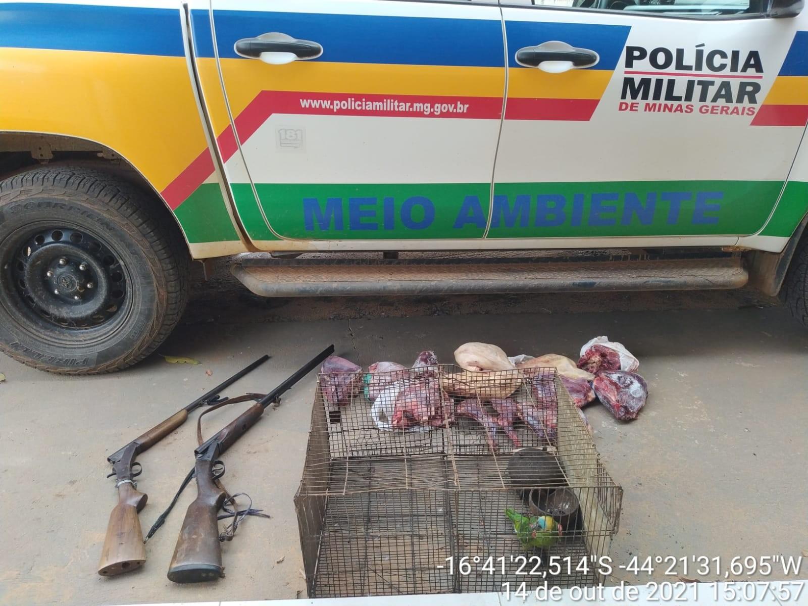 Homem é detido com 22 quilos de carnes de animais silvestres em São João da Lagoa