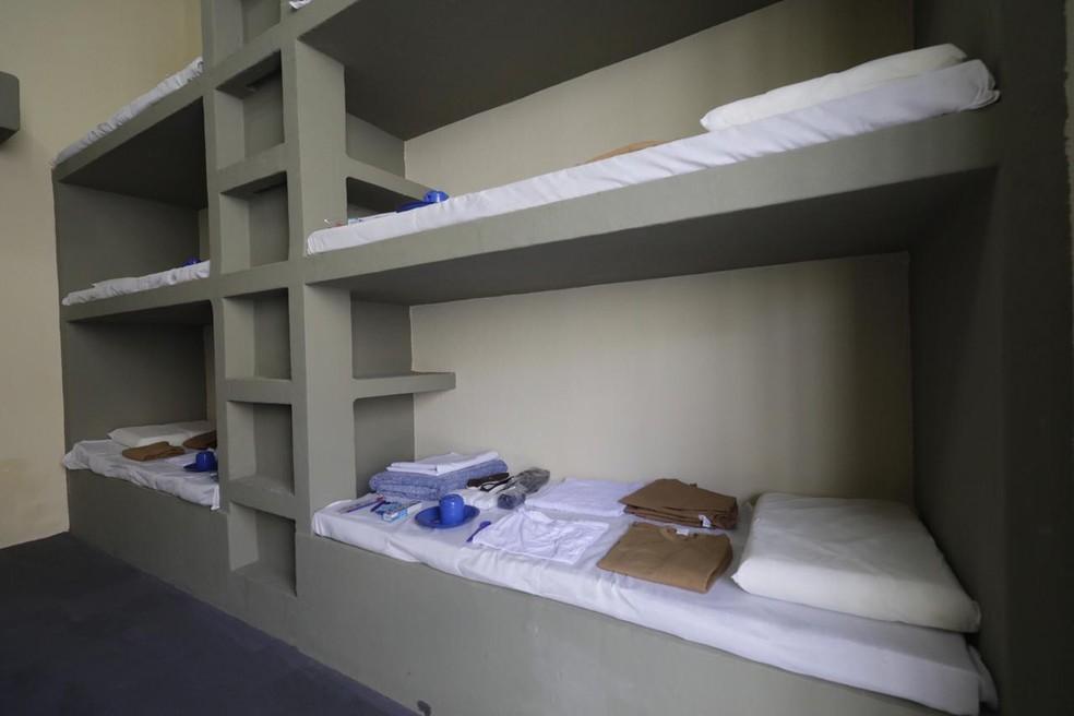 Centro de Detenção Provisória foi inaugurado nesta segunda-feira (2) — Foto: Foto: Governo do Estado/Divulgação
