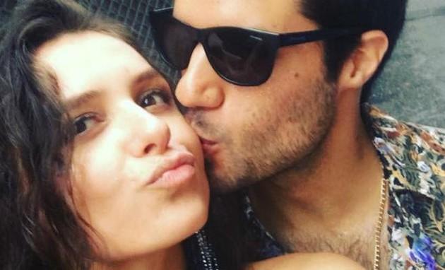 Monica Iozzi e Gabriel Moura (Foto: Reprodução)