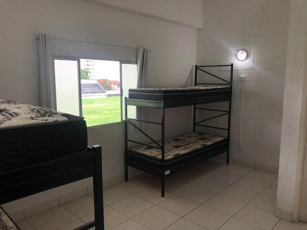 Alojamento Botafogo — Foto: Reprodução/Botafogo