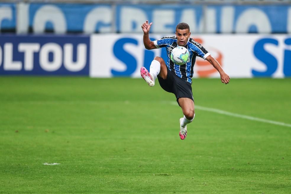 Alisson, do Grêmio — Foto: Lucas Uebel/Grêmio