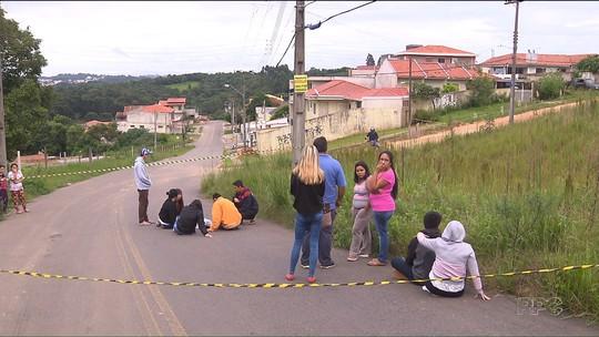 Adolescente é apreendido suspeito de participação na morte de jovem recolhido pelo IML depois de 13 horas em Colombo