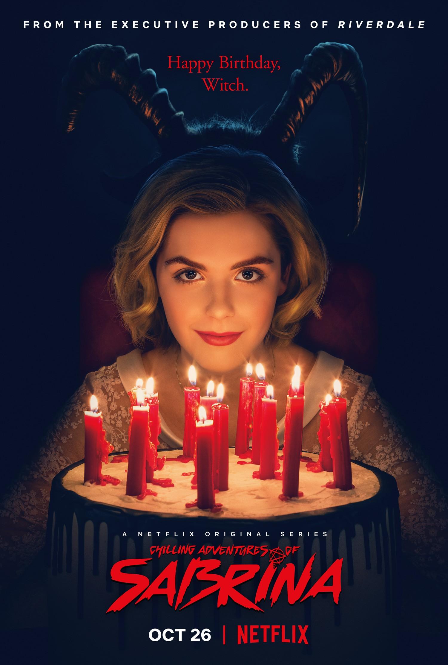 """Cartaz da primeira temporada de """"O Mundo Sombrio de Sabrina"""" (Foto: Netflix/Divulgação)"""
