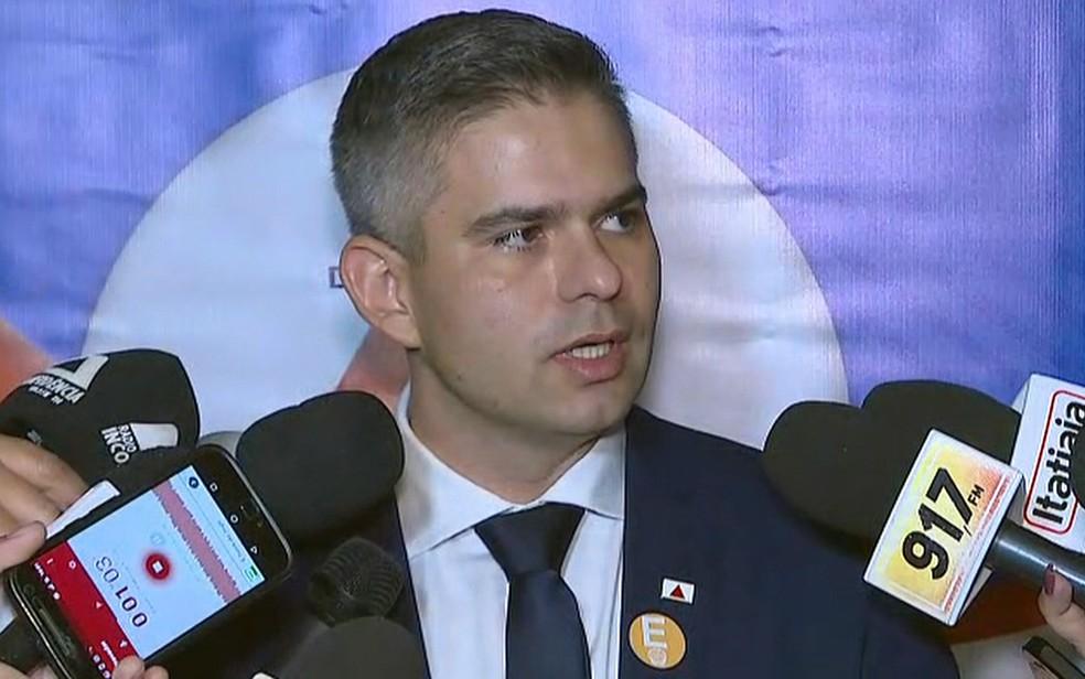 Secretário de Meio Ambiente de Minas Gerais, Germano Vieira — Foto: Reprodução/TV Globo