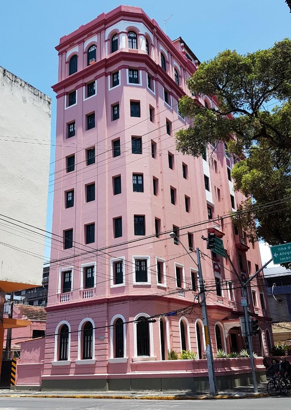 Edifício do Hotel Central, no Recife, é tombado pelo governo estadual |  Pernambuco | G1