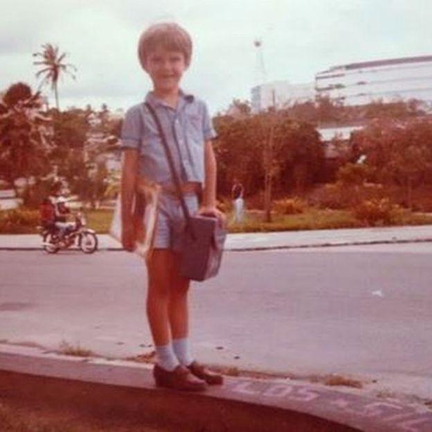 Narcizo Neto estudou parte de sua vida em escolas públicas em Campina Grande (Foto: Arquivo pessoal via BBC News Brasil)
