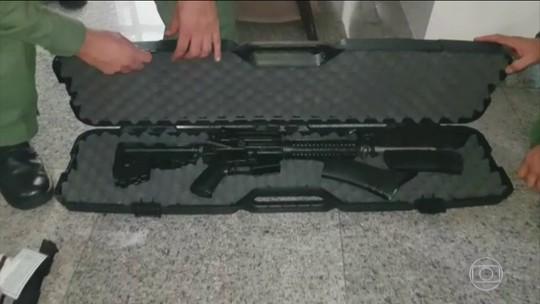 Graer apreende munição antiaérea e armas de uso restrito em condomínio, em Goiânia