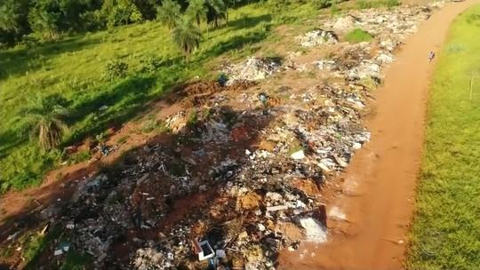 Prefeitura usa drones para fiscalizar descarte irregular de lixo em Rio Preto