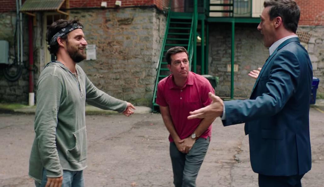 Longa estrelado por Ed Helms, Jon Hamm e Jake Johnson é baseado em história real (Foto: Divulgação)
