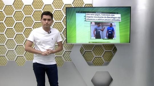 Veja a íntegra do Globo Esporte desta quarta-feira, 13/11