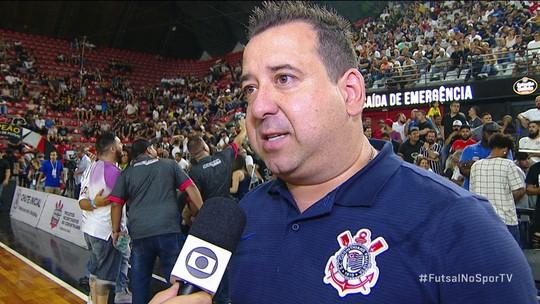 André Bié, técnico do Corinthians, fala sobre situação com juiz antes de final